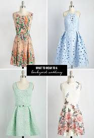 What To Wear To A Summer Wedding With ModCloth | Green Wedding ... Summer Wedding Dress Code What To Wear A Formal Casual Or To A Stitch Fix Style 7 Drses That Are Perfect Fit For Backyard Best 25 Outdoor Weddings Ideas On Pinterest Uncategorized Archives James Stokes Photographyjames Also Great Looking Group Of Guys Fall Rustic Backyard Wedding Attire Outdoor Goods Cute Classy Tent Drses