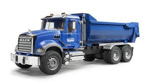 100 Bruder Mack Granite Liebherr Crane Truck