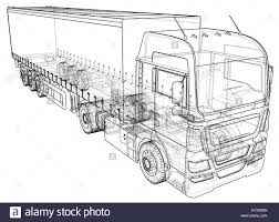 Trailer Truck. Abstract Drawing. Tracing Illustration Of 3d Stock ... How To Draw An F150 Ford Pickup Truck Step By Drawing Guide Dustbin Van Sketch Drawn Lorry Pencil And In Color Related Keywords Amp Suggestions Avec Of Trucks Cartoon To Draw Youtube At Getdrawingscom Free For Personal Use A Dump Pop Path The Images Collection Of Food Truck Drawing Sketch Pencil And Semi Aliceme A Cool Awesome Trailer Abstract Tracing Illustration 3d Stock 49 F1 Enthusiasts Forums