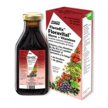 Floradix Floravital Liquid Iron and Vitamin Formula - 250ml