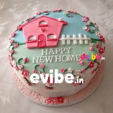 BLRCK2077 Happy Home Housewarming Cake