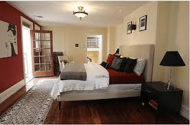 Red Black And White Bedroom Idea