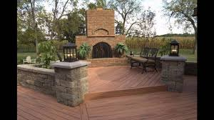 Patio And Deck Ideas by Garden Decking Ideas For Small Space Youtube