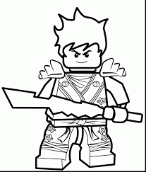 Impressive Lego Ninjago Coloring Pages With Page