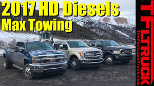 100 Ford Trucks Vs Chevy Trucks 2017 HD Vs Super Duty Vs Ram HD Ike Gauntlet Review