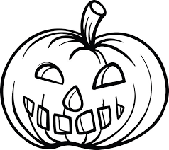 Printable Pumpkin Coloring Page For Kids