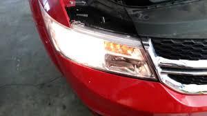 2013 dodge journey suv testing new headlight bulbs low beam
