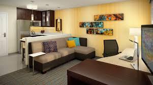 Residence Inn Living Room Kitchen