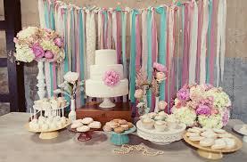Vintage Style Wedding Dessert Tables