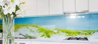 glasrückwände glasbild selbst gestalten glasposter