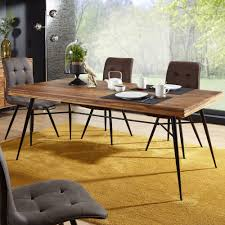 kadima design design esszimmertisch holz 200 x 77 x 100 cm