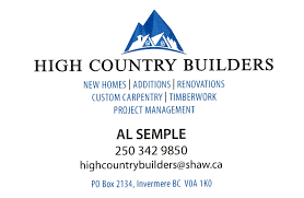 100 Country Builders High Columbia Valley Chamber Of Commerce