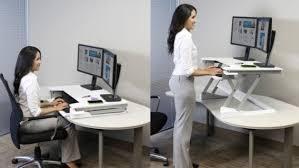 Kangaroo Standing Desk Uk by Sitting To Standing Desk Converter Computer Adjustable Esnjlaw Com