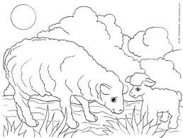 Full Size Of Coloring Pagelamb Pages Sheep Page Large Thumbnail