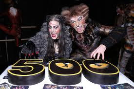 cats on broadway see cats celebrate 500 performances on broadway playbill