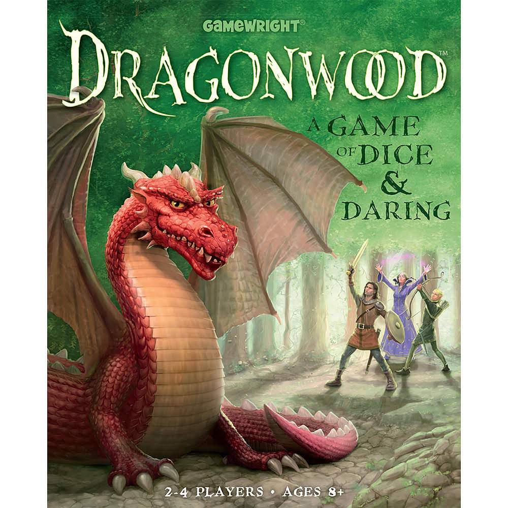Gamewright Dragonwood A Game of Dice and Daring