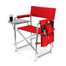 Picnic Time Red Aluminum Folding Camping Chair At Lowes.com Pnic Time Red Alinum Folding Camping Chair At Lowescom Extra Large Directors Tan Best Choice Products Zero Gravity Recliner Lounge W Canopy Shade And Cup Holder Tray Gray Timber Ridge 2pack Slimfold Beach Tuscanypro Hot Rod Editiontall Heavy Duty Director Side Tray29 Seat Height West Elm Metal Butler Stand Polished Nickel Replacement Drink For Chairs By Your Table Sports Hercules Series 1000 Lb Capacity White Resin With Vinyl Padded