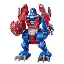 Playskool Heroes Transformers Rescue Bots Knight Watch Optimus Prime ...