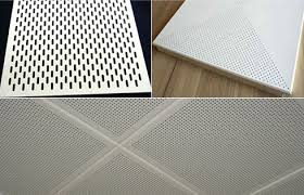 perforated metal acoustic ceiling panels architectural interior