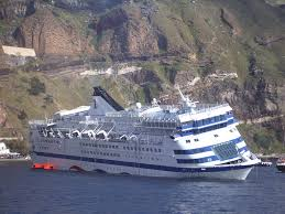 santorini s pending environmental disaster expeditionwriter