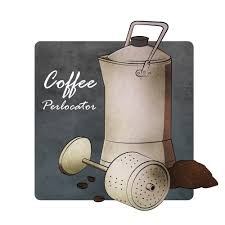 Coffee Percolator 1865 By Fabianus Bayu Shirohyde From The
