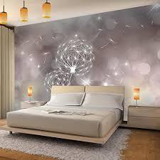 fototapete pusteblumen abstrakt 352 x 250 cm vlies tapeten wandtapete moderne wanddeko wohnzimmer schlafzimmer büro flur grau beige 9174011a