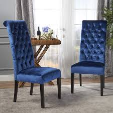 Christopher Knight Home Leorah Dining Chair Set, Navy Blue/Dark Brown Fairy Contemporary Fabric Ding Chairs Set Of 2 Navy Blue Shelby Chair In Channel Tufted Velvet By Meridian Fniture Hanover Mcer 5piece Patio With 4 Cushioned And A 40inch Square Table Mercdn5pcsqnvy Colston Silver Leaf Including Brookville Harley Traditional Microfiber Details About Bates New Opal Room Gold William