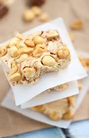 easy no bake dessert recipes no bake nougat bars simply stacie