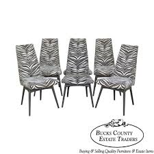 Adrian Pearsall Mid Century Modern Set 6 Zebra Print Black Frame ... Adrian Pearsall High Back Ding Chairs Craft Associates 2051c Walnut Rocking Chair By 1950s For Sale At Pamono 4 Cool Stuff Houston Mid Century Set Of Five Mid Century Adrian Pearsall Style High Back Cane Ding Mrspkandoz Modern S6 Linen Set Forgivedme Desk Or Accent Pearsall Ding Chairs Party Fowl Antiques