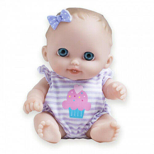 "JC Toys Lil' Cutesies 8.5"" Baby Doll - Blue Eyes Lulu"
