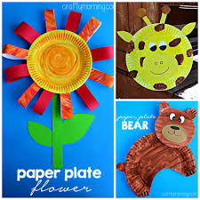 Creative Paper Plate Crafts For Kids To Make
