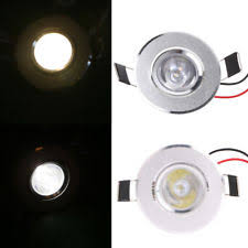 1w led light bulbs recessed downlight ebay