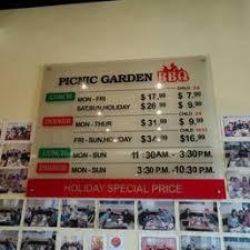 s for Picnic Garden Yelp