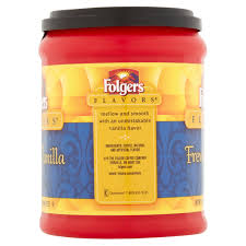 Folgers Flavors French Vanilla Ground Coffee 115 Oz