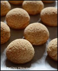 choux craquelin crème légère à la vanille les petites chouquettes