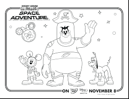 Mickey Mouse Clubhouse Coloring Pages Free Colouring Online Christmas Printable Full Size