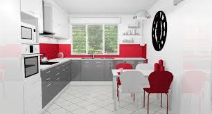 deco cuisine grise et beautiful cuisine et blanche images design trends 2017
