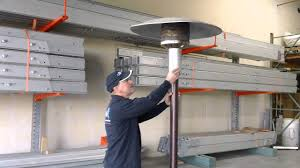 Mainstays Patio Heater Instructions by Patio Heater Video Youtube