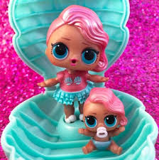Green Mermaid PEARL SURPRISE Limited Edition Dolls Big Lil Sister