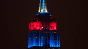 Empire State Building slaps New Yorkers in face shines Patriots
