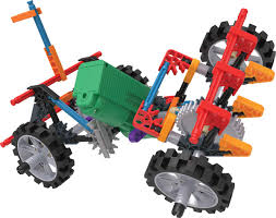 K'Nex Imagine 4Wd Demolition Truck Building Set | Creative Building ...