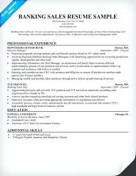 Banking Resume Template Bank Format Commercial Banker