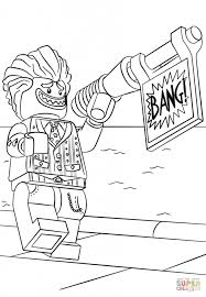 Lego The Joker Coloring Page