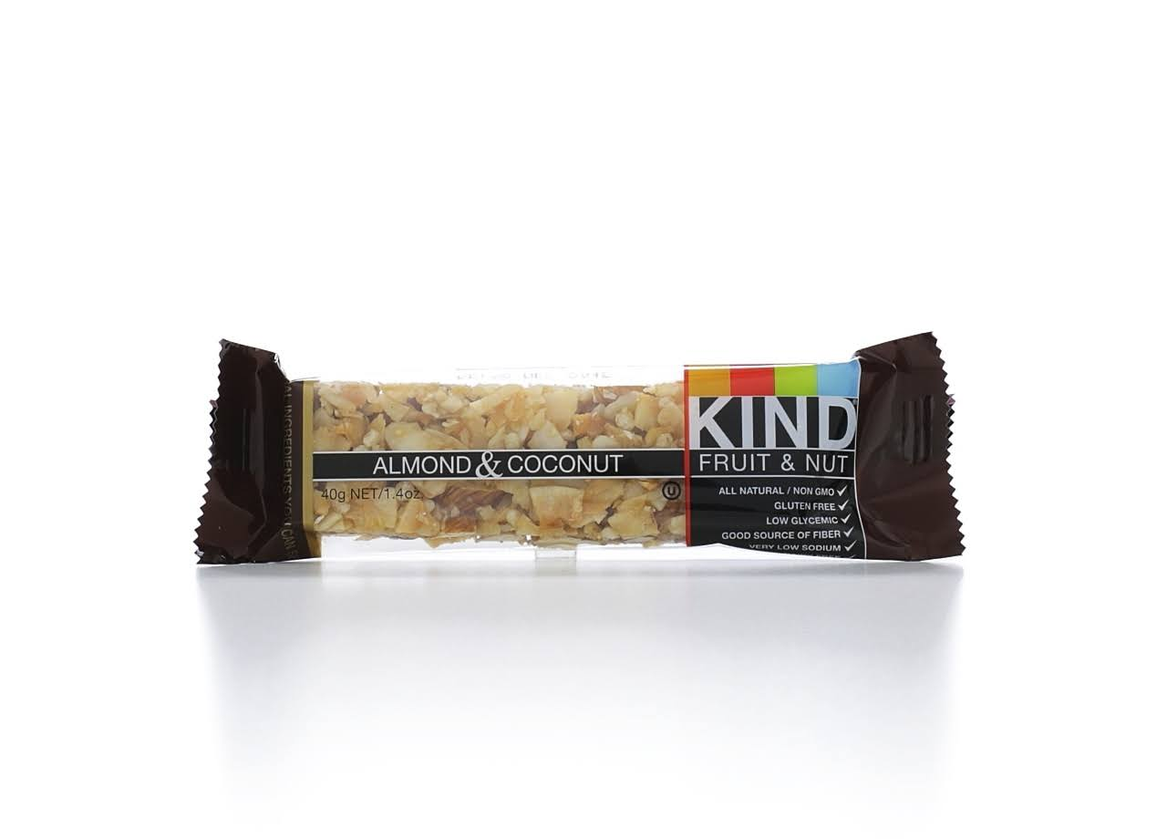Kind Fruit & Nut Bar, Almond & Coconut - 1.4 oz