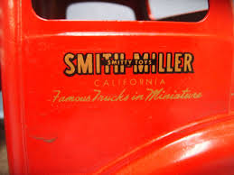 100 Smith Miller Trucks 2 Toys SMITH MILLER Intercontinental Freighter Wtrailer Decals