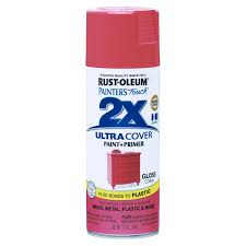 Rust Oleum Decorative Concrete Coating Applicator by Rust Oleum Painters Touch Ultra Cover 2x 12 Oz Spray Paint Coral