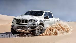 This BMW pickup truck could play in