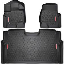 100 Ford Truck Mats Amazoncom 2015 2017 F150 Floor FRONT REAR LINERS