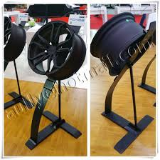 Creative Car Wheel Display Stand