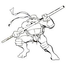 TMNT Donatello With Weapon Bo
